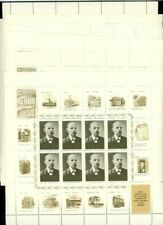 Russia 1970 Sc 3721-30 sheets of 8 with labels Portraits of Lenin MNH CV $50