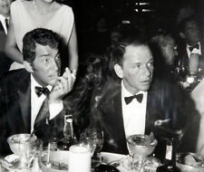 Frank Sinatra and Dean Martin UNSIGNED photograph - L3688 - In the 1960's