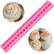 Stampo Perle decorazione collana perla torta dolci pasta zucchero Cake Design