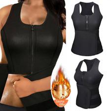 Hot Sweat Sauna Body Shaper Women Slimming Vest Thermo Neoprene Waist Trainer UK