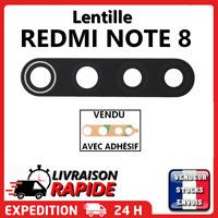 Vitre arrière caméra XIAOMI REDMI NOTE 8 Lentille appareil photo Lens verre