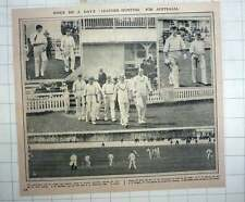 1912 Australians Run Up Huge Score Against Essex, 564 For 3