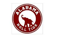 STATE OF ALABAMA  5 X 6 VINYL CAR TRUCK WINDOW DECAL STICKERS