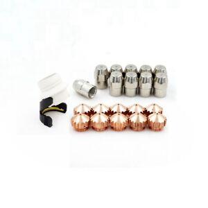 Plasma Cutter Electrode 0408-2404 Shield 0408-2267 Tips 0408-2385 1.6mm for SAF