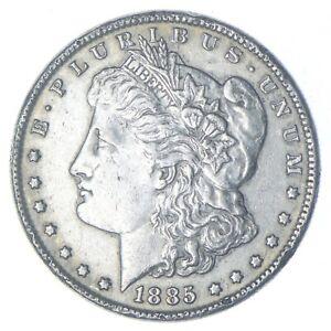 Early - 1885 Morgan Silver Dollar - 90% US Coin *072