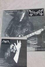 BLACK METAL MORBID MAYHEM RARITY LIMITED ISSUE MINT UNPLAYED 156 COPIES