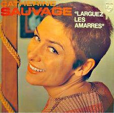 ++CATHERINE SAUVAGE laguez les amarres LP Philips - sur la scene/limonade VG++