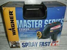 NEW Wagner Master Series Powerpainter Spray Fast Wideshot 5.4 Gph