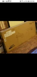 DHP 2024429 Futon Chaise Lounger Home Furniture Single Sleeper Modern
