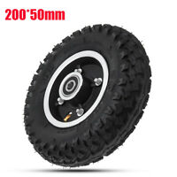 Inflatable Longboard Rubber Off Road Wheel for Electrical Skateboard 200*50mm