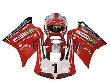 Red Injection Body Fairing Kit for Ducati 996 998 748 916 Year 1996-2002