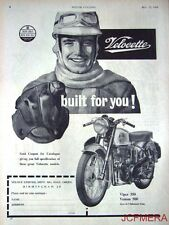 1960 Motor Cycle ADVERT - Velocette 'Venom 500 & Viper 350 Clubman' Print AD