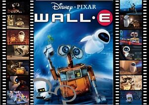 Disney Wall E filmstrip art A4 print, photo, picture,nursery,gift