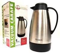Genuine Joe Gjo11955 Stainless Steel Everyday Double Wall Vacuum Insulated Caraf