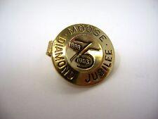 Vintage Tie Bar Clip: MOOSE Diamond Jubilee 1963