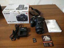 CANON EOS 2000D Camera EF-S 18-55 III Camera Kit!!