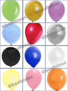 "144 288 576 Wedding Birthday Party Decoration 12"" Latex Colors Balloon Wholesale"