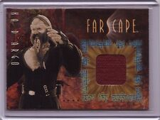 Farscape Season 1 Anthony Simcoe ( KA D'ARGO ) costume material swatch card #C4