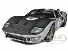 1966 FORD GT-40 MK 2 SILVER #7 1/18 CAR MODEL BY SHELBY COLLECTIBLES SC404