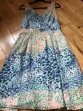 Boden summer silk dress size10 R