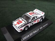 LANCIA  037 RALLY  1983 WRC Sanremo Rally 1:64 CM's Rally Car Collection Japan