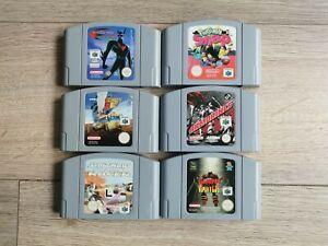 Lot Jeux Nintendo 64