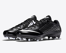 New Nike Men's US Size 9 Vapor Speed Low TD Football Cleats Black White $90