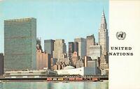 Postcard United Nations Headquarters New York
