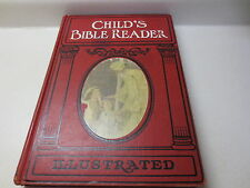 Child's Bible Reader by Charlotte M. Yonge vintage 1960 Revised Edition hardback
