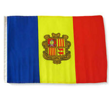 "12x18 12""x18"" Andorra Sleeve Flag Boat Car Garden"
