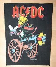 AC/DC , Vintage 1990 Backpatch , rar , rare