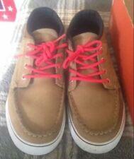 Globe Skateboard Shoes The Bender Golden Brown/Red Men's Size 9 skate shoes 9M
