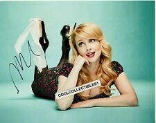 "MELISSA RAUCH ""THE BIG BANG THEORY"" IN PERSON SIGNED 8X10 COLOR PHOTO 4 ""PROOF"""