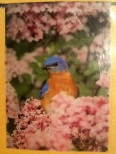 New Creative Bluebird In Lilacs Outdoor Garden Flag Large 28 X 40 New Sale!