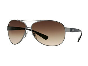 Sonnenbrille Ray Ban RB3386 Metall braun gradient 004/13