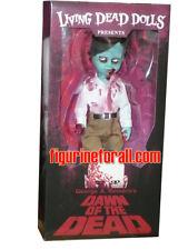 "MEZCO Living Dead Dolls FLYBOY 10"" DOLL Dawn Of The Dead Movie Fly boy Sealed"