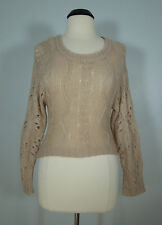 XHILARATION Brown Knitted Pullover Sweater Top Juniors size XS
