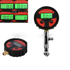 200PSI Auto Motorcycle Car Truck Tyre Tire LCD Digital Air Pressure Gauge Meter