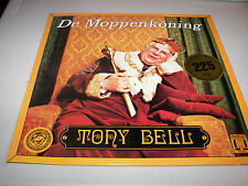 Tony Bell De Moppenkoning  LP NM Omega 777.003 Comedy Belgium SIGNED