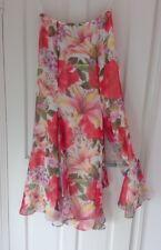 Escada floral print long skirt - Size De 38