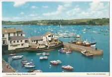 Cornwall; Customs House Quay, Falmouth PPC, 1987 PMK, By John Hinde