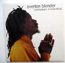 Everton Blender Rootsman - Credential LP Scellé Roots Reggae