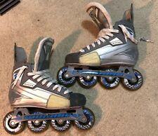 Mission Hi-Lo Vanguard Roller Hockey Skates Blades Size 6 - For Tournament Use