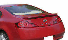 PAINTED SPOILER FOR AN INFINITI G35 2-DOOR FACTORY STYLE 2006-2007