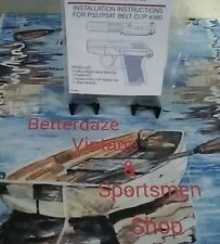 """Kel-Tec"" 32-380 Right Hand Blued Belt Clip"