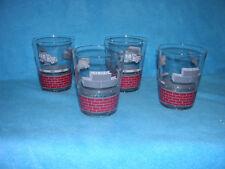 Set of 4 Cement, Brick, Cinder Block, Cement Truck - Drinking Glasses, Kids?