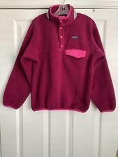 Patagonia Girl Synchilla Snap Fleece Pullover. Size 8-10