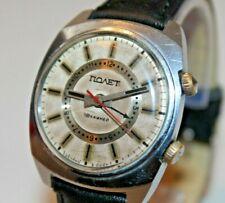 Soviet Poljot signal watch alarm wristwatch USSR Russian kirovskie 1mchz 18j Old
