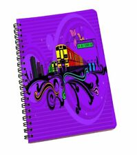 Trains Print 120 Pages Stationary Very Beautiful Notebook A5 Notepad, Paper