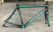 Telaio bici corsa carbonio Saccarelli Speed Two carbon road bike frame 53 BB30